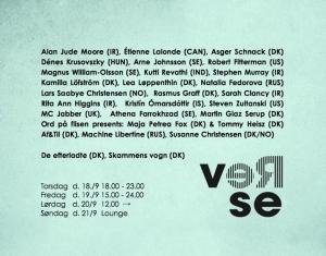 Reverse Poetry Festival, Copenhagen 2014